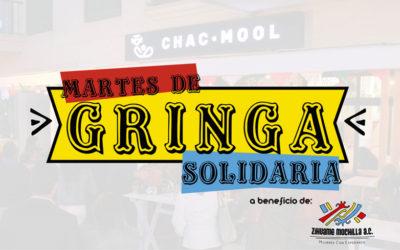 Martes de Gringa Solidaria en apoyo a Zihuame Mochilla